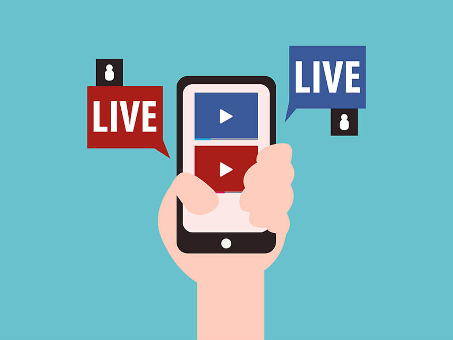 4 channel Live stream