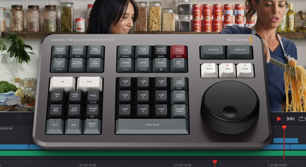 Blackmagic Design DaVinci Resolve Speed Editor 1