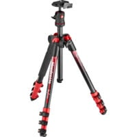 Manfrotto BeFree Color Aluminum Travel Tripod (Red)