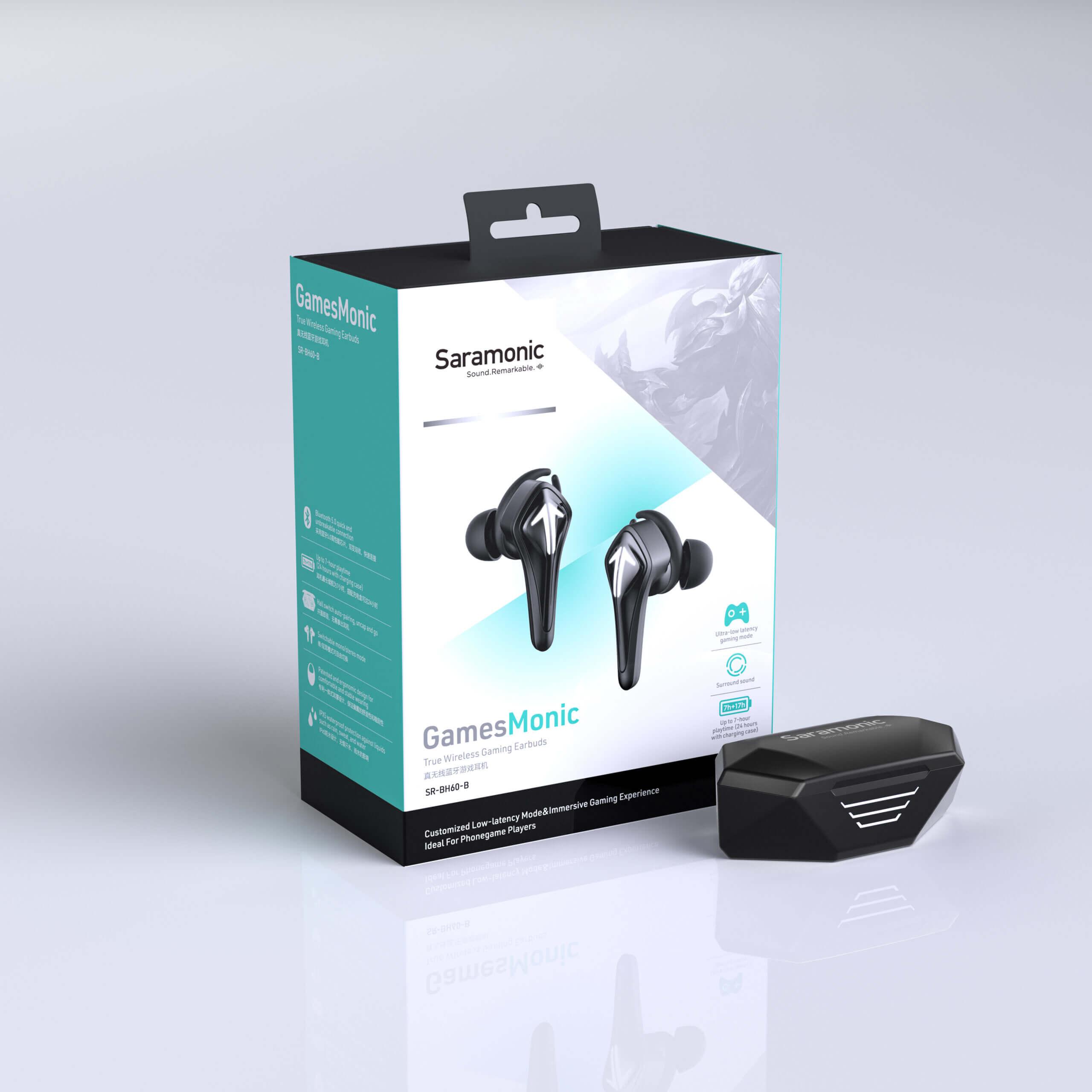 Saramonic SR BH60 R True Wireless Gaming Earbuds 19 scaled