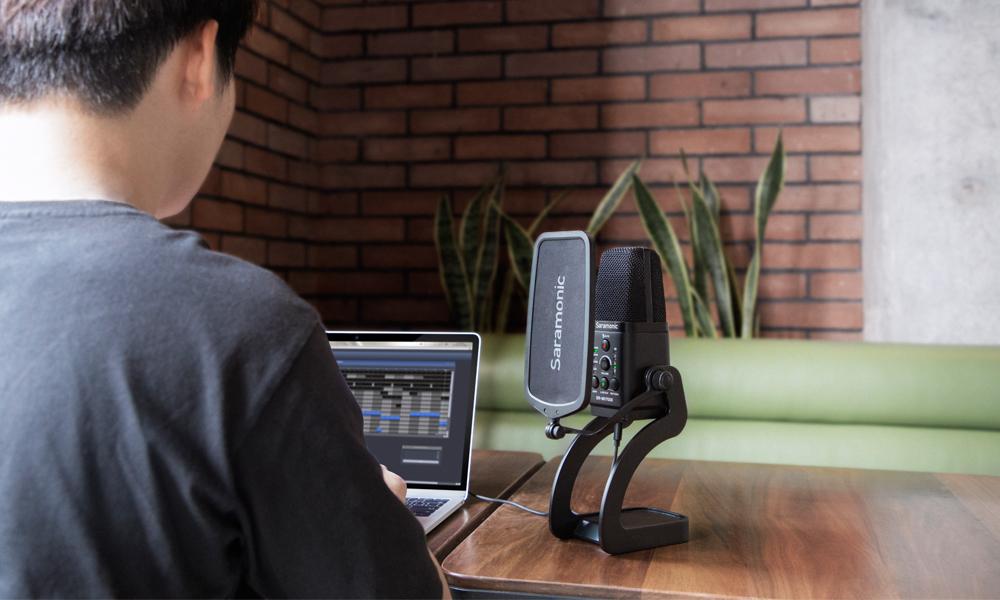 Saramonic SR MV7000 XLR USB condenser microphone 3