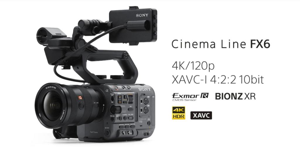 Sony FX6-Cinema Line