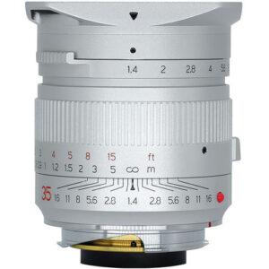 TTArtisan 35mm f1.4 Lens for Leica M (Silver)