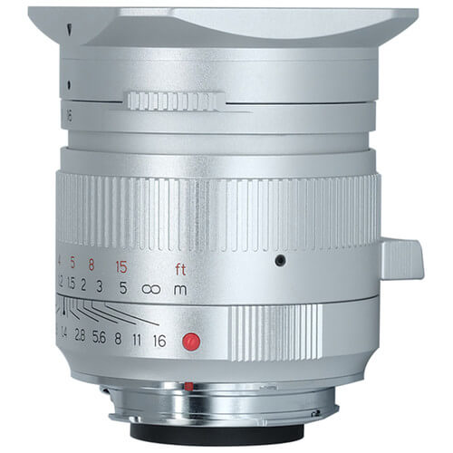 TTArtisan 35mm f1.4 Lens for Leica M (Silver)