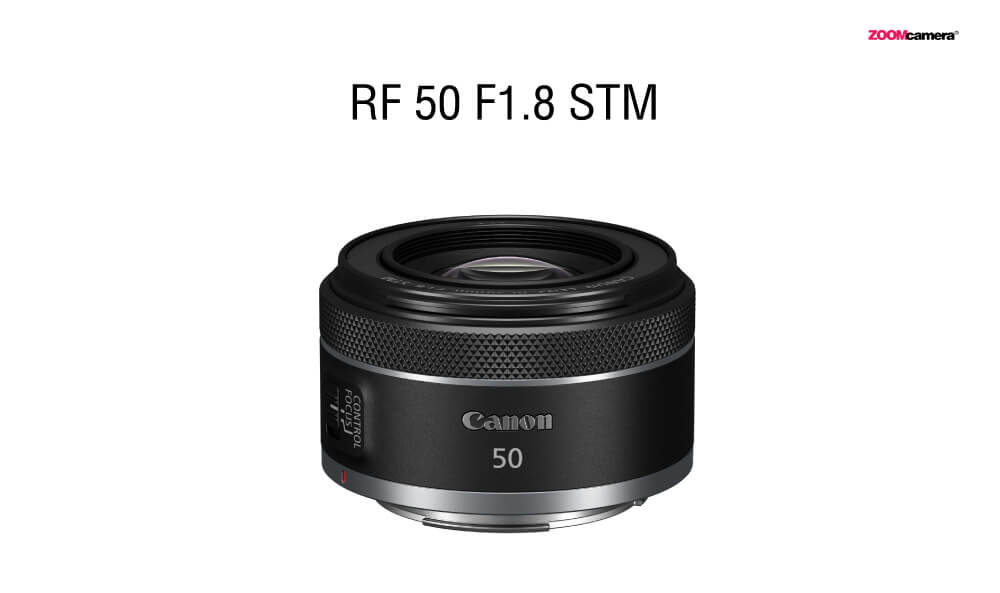 Canon RF 50mm. F1.8 STM