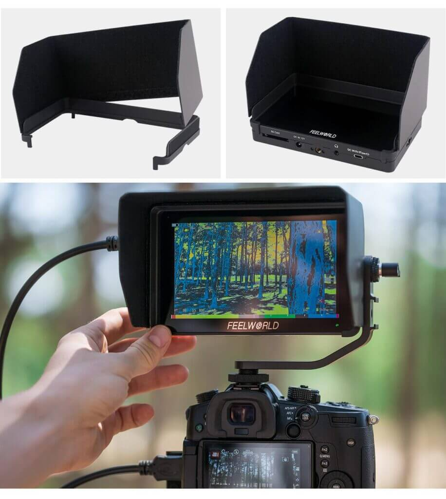 cheap dslr field monitor