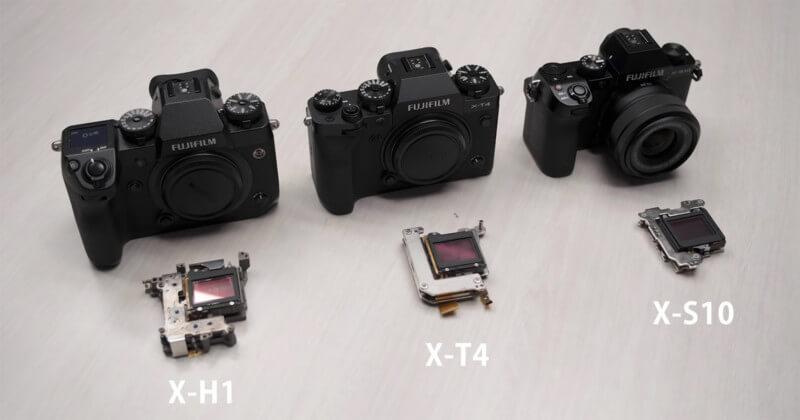 Fujifilm X-S10 ibis unit