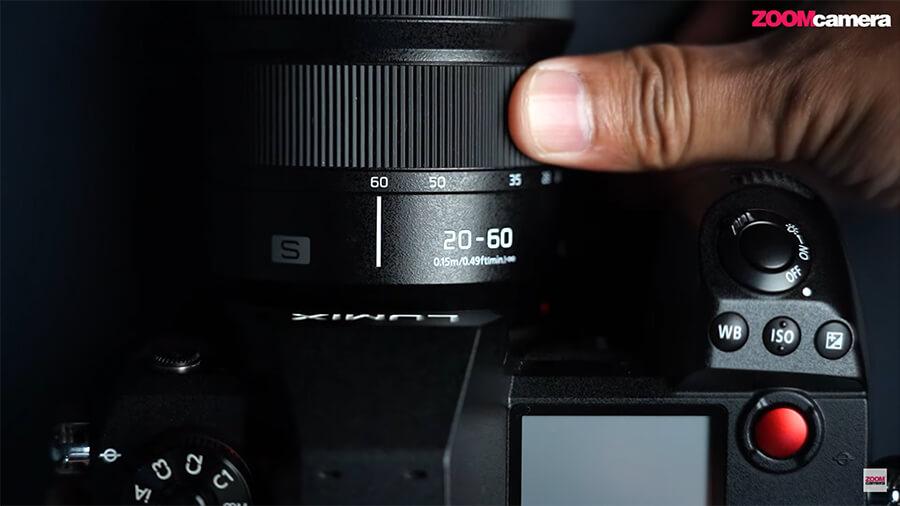เลนส์ Panasonic Lumix S 20-60mm f3.5-5.6