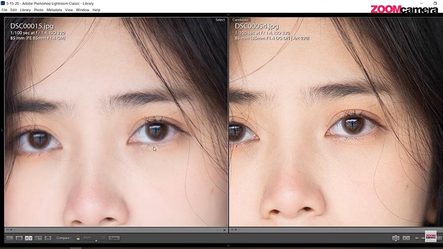 รีวิว SIGMA 85mm F1.4 DG DN ART For Sony ความคมเทียบ 85mm gm 2