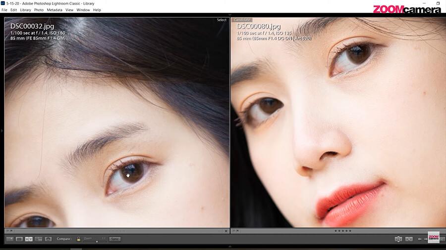 รีวิว SIGMA 85mm F1.4 DG DN ART For Sony ความคมเทียบ 85mm gm