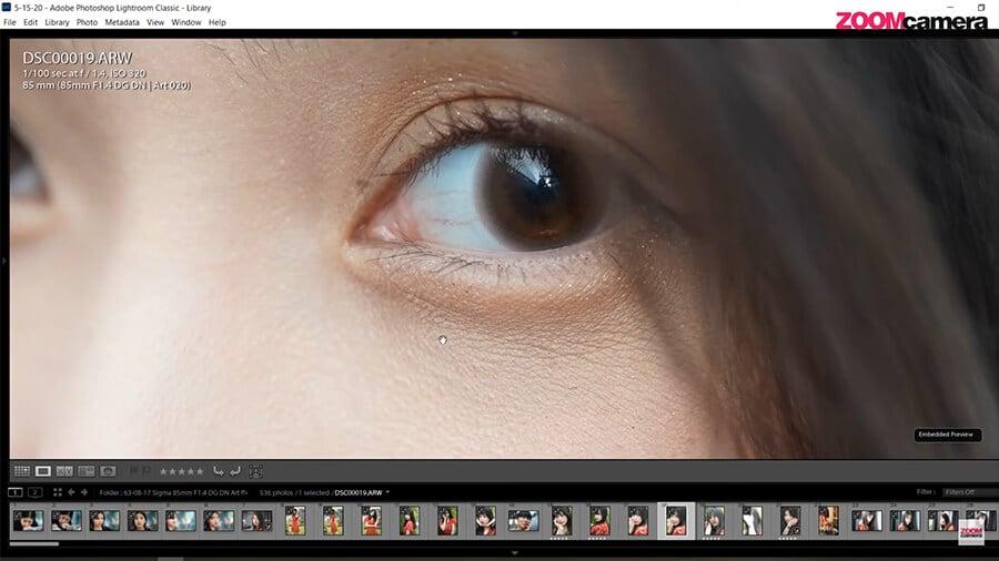 รีวิว SIGMA 85mm F1.4 DG DN ART เปรียบเทียบ Sony 85mm F1.4 G Masterความคม