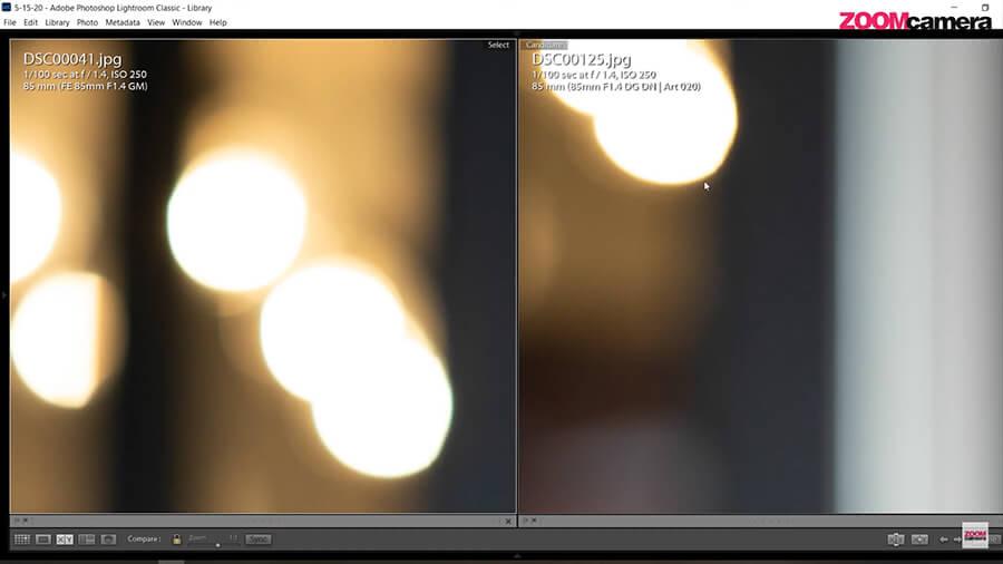 รีวิว SIGMA 85mm F1.4 DG DN ART for sony bokeh 1
