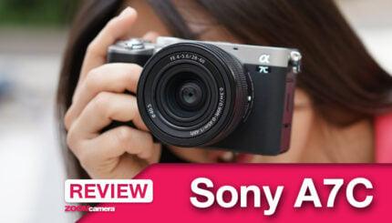รีวิว-Sony-A7C