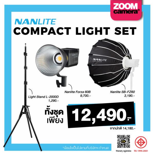 11.20 Nanlite Product COMPACT LIGHT SET
