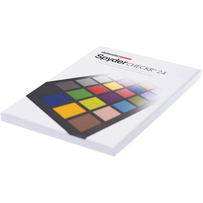 Datacolor SpyderCHECKR 24 Color Chart