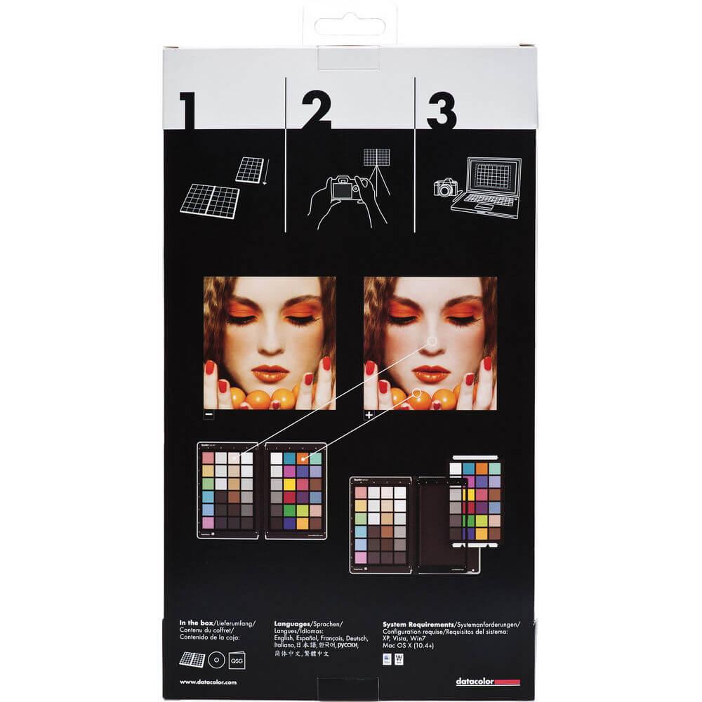 Datacolor SpyderCHECKR Color Chart and Calibration Tool for Digital Cameras