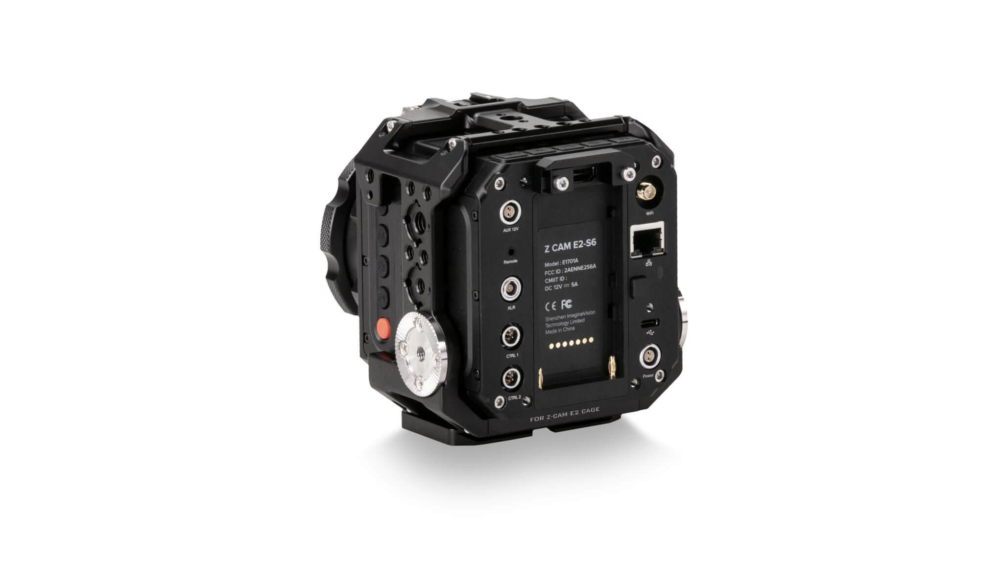 Full Camera Cage for ZCAM Black TA T05 FCC B Back Legacy 2 2048x1154 1