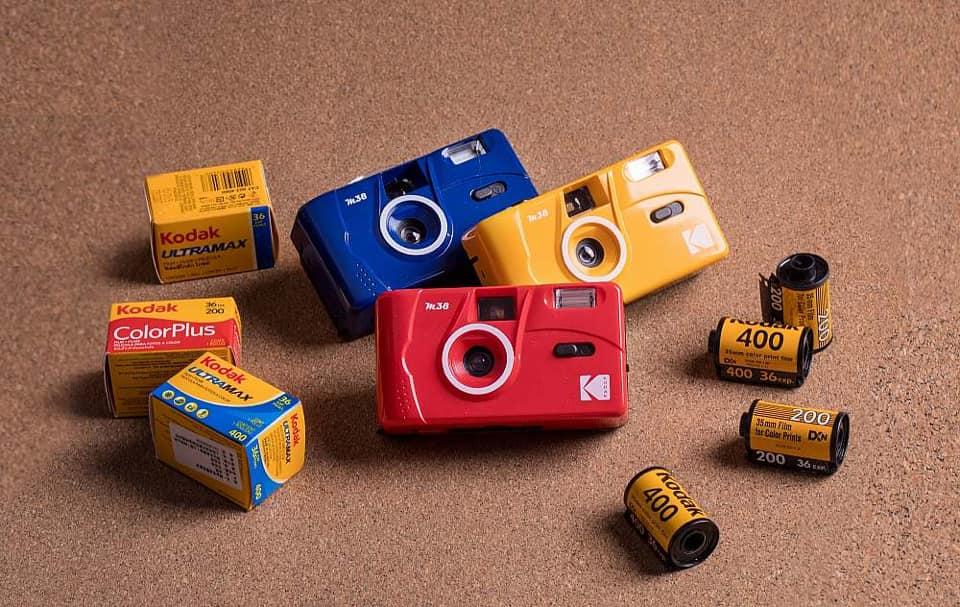 Kodak Vintage Retro M38 35mm Reusable Film Camera 1