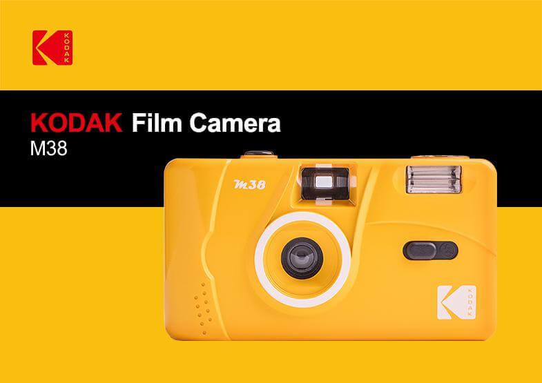 Kodak Vintage Retro M38 35mm Reusable Film Camera 10
