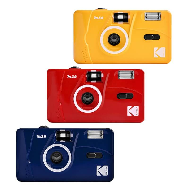 Kodak Vintage Retro M38 35mm Reusable Film Camera 8