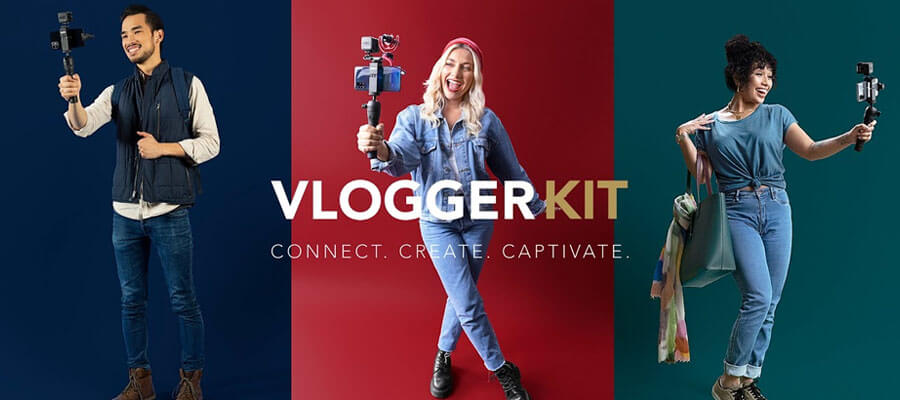 Rode Vlogger Kit Universal Filmmaking Kit for Smartphones with 3.5mm Ports