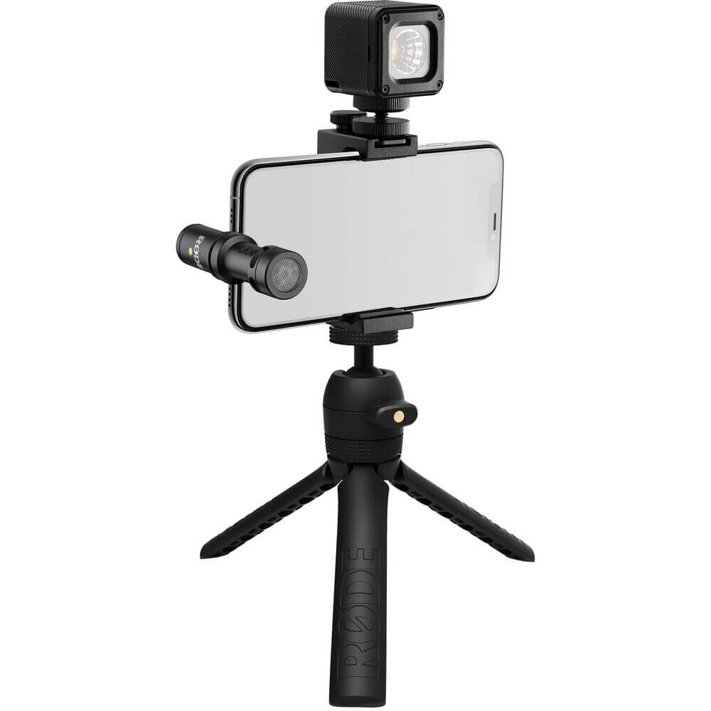 Rode Vlogger Kit iOS Edition Filmmaking Kit for Mobile Devices with Lightning Ports
