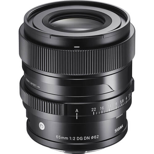 Sigma 65mm f2 DG DN Contemporary Lens for Leica L