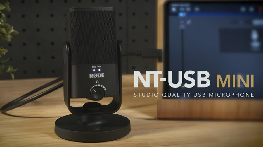 Rode NT USB mini ไมค์คอนเดนเซอร์แบนด์ชั้นนำ