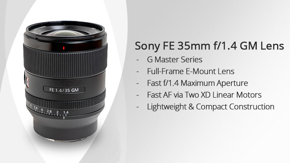 Sony FE 35mm F1.4 GM Feature