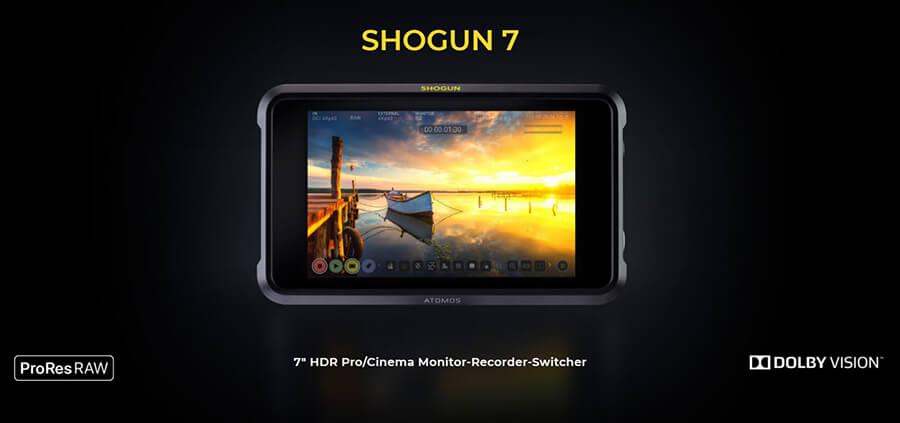 Atomos Shogun 7 HDR dolby vision and apple pro res