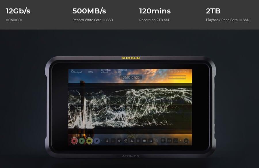 Atomos Shogun 7 SSD