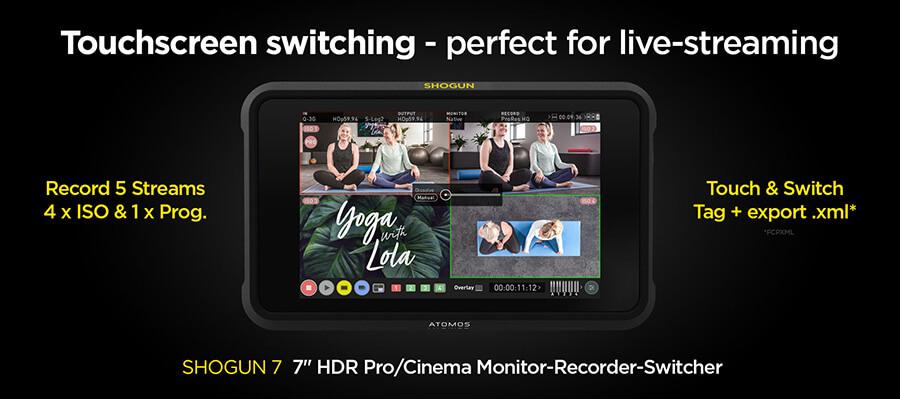 Atomos Shogun 7 Touchscreen