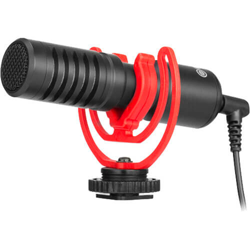 BOYA BY-MM1+ Ultracompact Camera-Mount Shotgun Microphone