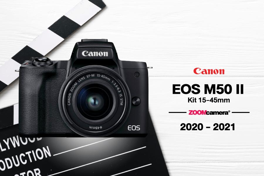 กล้องทำ Youtube Canon EOS M50 II