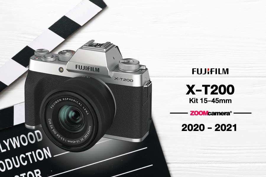 กล้องทำ Youtube Fujifilm X-T200