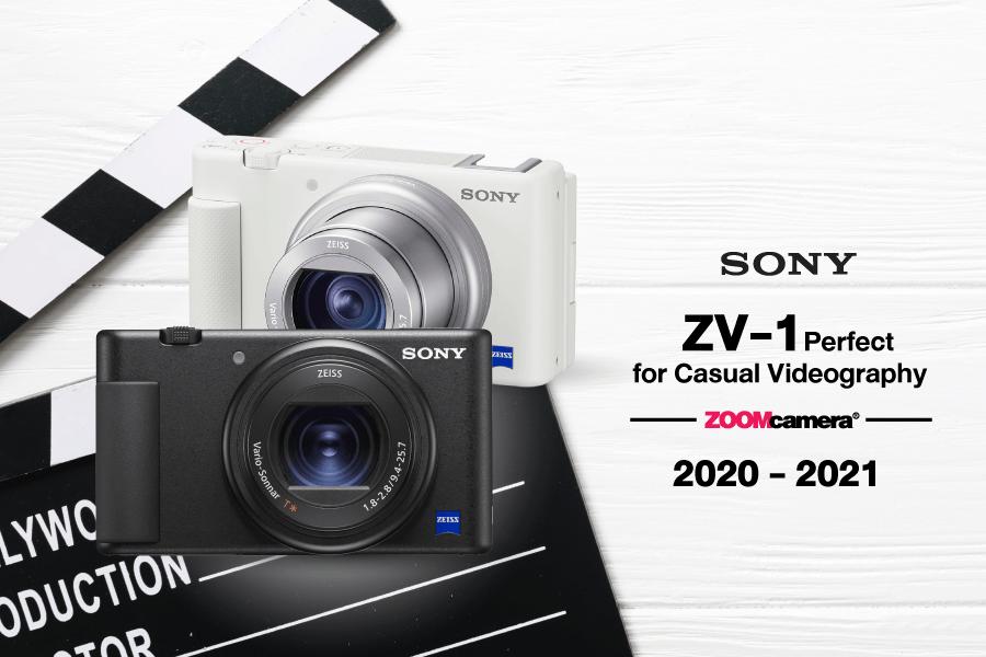 กล้องทำ Youtube Sony ZV1