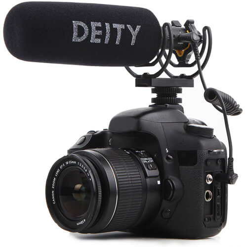 Deity V-Mic D3 Pro Camera-Mount Shotgun Microphone