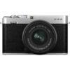 FUJIFILM X-E4 Mirrorless Digital Camera Silver kit