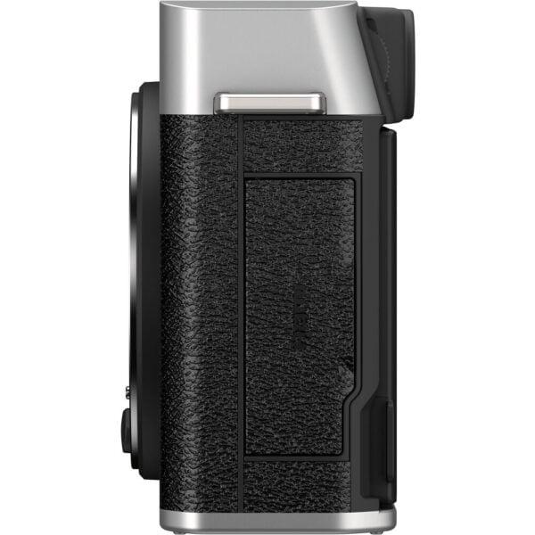 FUJIFILM X-E4 Mirrorless Digital Camera (Body Only, Silver)