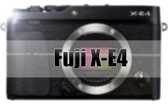 กล้องฟูจิฟิล์ม Fujifilm X-E4