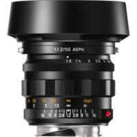 Leica Noctilux-M 50mm f1.2 ASPH Lens Black