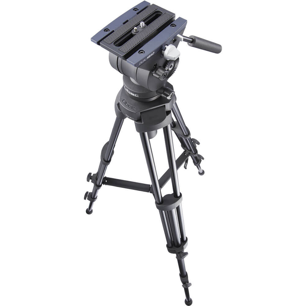 Libec TH-X All-In-One Tripod System (Head and Tripod) for All-in-one tripod system for small camcorders and DSLR cameras