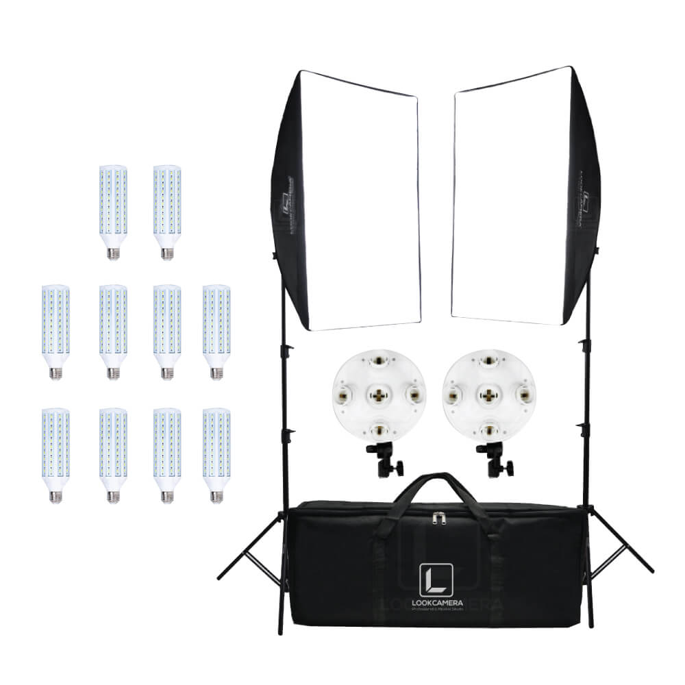 Lookcamera DUO SET 5 HEAD SOFTBOX