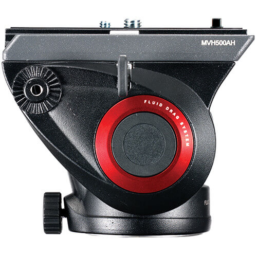 Manfrotto MVH500AH Fluid Head 755CX3 MagFibre Tripod 8