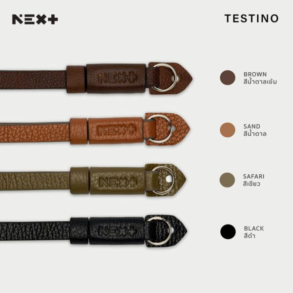 NEX+ Hand Strap TESTINO Series Leather W: 1.3cm /L: 15cm