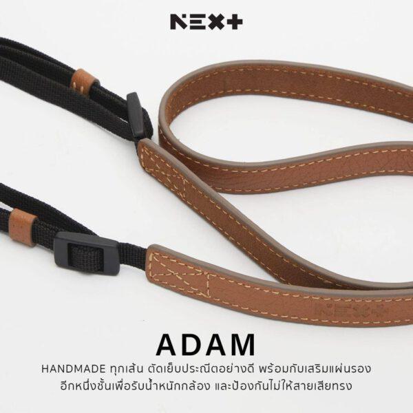 NEX Hand Strap TESTINO Series Leather adam 3