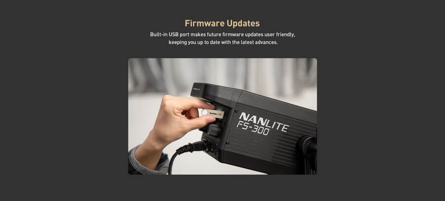 Nanlite FS 300 AC LED Monolight p9