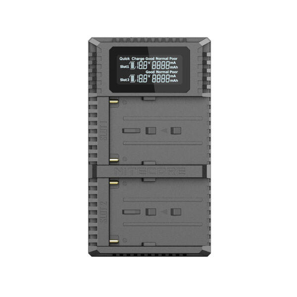 Nitecore USN3 Pro Sony dual slot USB fast charger 03