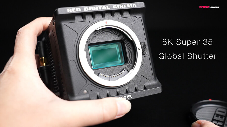RED Komodo 6K sensor