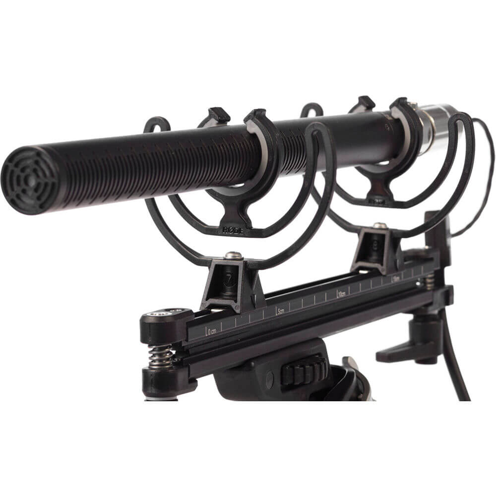 Rode Blimp Windshield and Rycote Shock Mount Suspension System for Shotgun Microphone